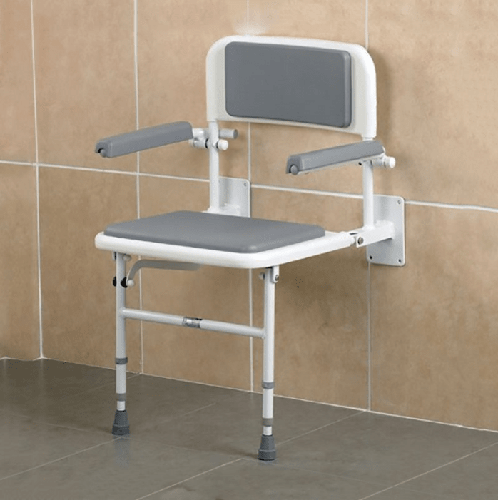 9 Best Wall Mounted Shower Seats For The Elderly 2021 Elderly Care Systems