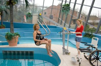 Swimming Pool Lifts for Elderly and Disabled