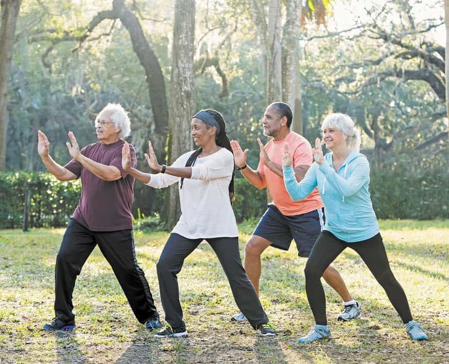 Tai Chi ideal for the elderly