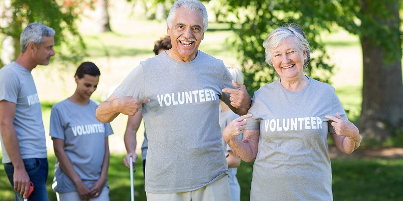 senior citizen volunteer opportunities near me