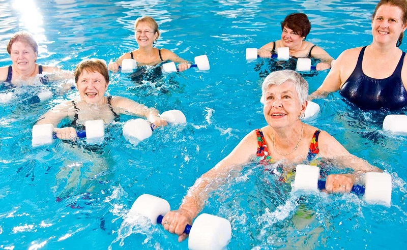 Aquatic Exercise for Seniors