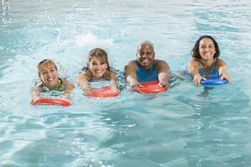 Types of aquatic exercises for seniors